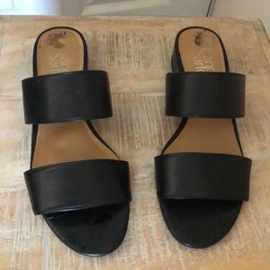 Italian Leather Black Matte Flats